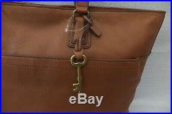 FOSSIL Genuine Ladies Large Leather Julia Tote Laptop Weekend Bag BNWT RRP £279