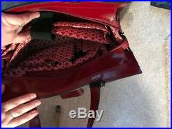 Franklin Covey Red Women's Business/Laptop/Shoulder Tote Bag