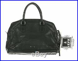 Frye Women's BLACK Jamie Work Leather Laptop Bag Handbag $645