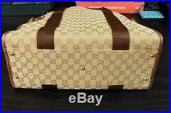 GUCCI 15 Italy Authentic Supreme Tote Handbag Womens Laptop Bag
