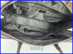 GUCCI Italy Supreme Brown GG Attache Briefcase Laptop Business Bag $1850