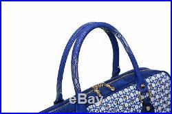 Galaxy Crystal Leather Designer Laptop Bag for Women Office Work Bag Handbag