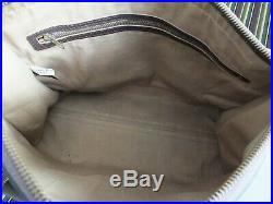 Genuine Vintage Womens Dior Trotter Monogram Business Case Laptop School Bag