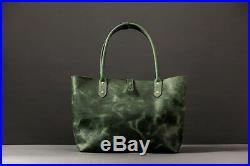 Green moss basket bag. Handbag. Bag for women. Shoulder bag. Laptop bag for work