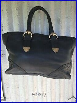 Gucci GG Guccisimi embossed corners bag large business laptop possibly overnight