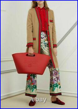 Gucci Unisex Gummi Tote Bag Tasche Handbag Schultertasche Shopper Weekender