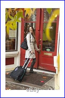 Haiku Women's Quest 15' Roller Travel Laptop Tote Bag Black