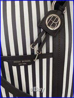 Henri Bendel Centennial Stripe Briefcase