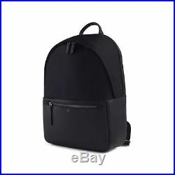 ISM The Classic (Black) Leather Backpack Men, Laptop Backpack for Women, L