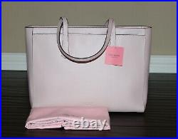 KATE SPADE Molly Large Work Tote Shoulder Laptop Bag Purse Tutu Pink Last 1
