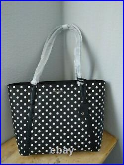Kate Spade Cara Dot Dot Large Tote Shoulder Bag Laptop Carryall