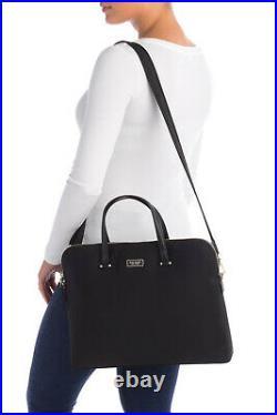 Kate Spade Dawn Black Nylon 15 Laptop Bag WKRU5910 $249