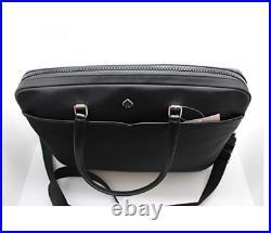 Kate Spade New York Jae Black Nylon Laptop Bag Crossbody Bag Tote Shoulder Bag