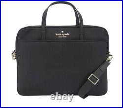 Kate Spade New York Universal Laptop Bag Black Nylon Nwt $168