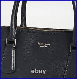 Kate Spade Sylvia Universal Slim Laptop Bag Large Satchel Crossbody Black