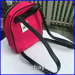Kate Spade Wilson Road Bradley Backpack Laptop Bag Small Radish Pink Nylon NWT