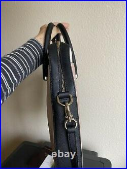 Kate spade new york laptop bag toasted wheat satchel