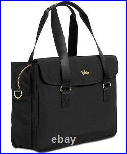 Kipling, Black, Superwork Super Work Satchel Laptop Tote Bag Work Nwt! Msrp $159