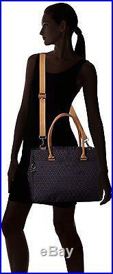 Kipling Womens Artego Laptop Bag Blue Woven Blue Geo
