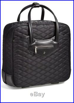 Knomo laptop Bag Briefcase Wheeled Trolley Cabin Black hand luggage Womens New