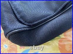 LOUIS VUITTON M93225 Geant Black Damier Vertical Messenger Crossbody Laptop Bag