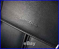 Ladies Samsonite Laptop Bag All Leather Briefcase Flapover Messenger For Girls
