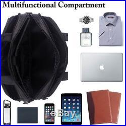 Laptop Briefcase 15.6 Bag Stylish Nylon Padded Business Office Men Women Carry