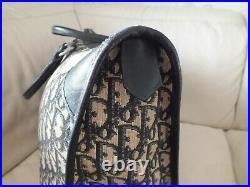 Large Authentic Vintage Christian Dior Trotter Handbag Gym Bag / Laptop Bag