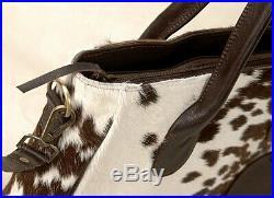 Large Cowhide Tote Bag Handbag Purse Shoulder Laptop Bag Pocketbook Woman SA-5