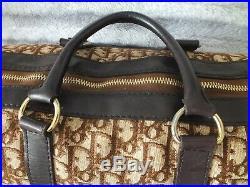 Large Genuine Womens Dior Trotter Monogram Business Case Laptop School Bag