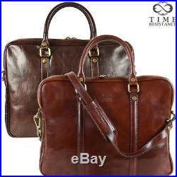 Leather Messenger Laptop Bag Mens Vintage Briefcase Handmade Genuine New