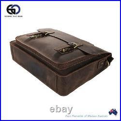 Leather Satchel Bag. Leather laptop Bag. Mens leather satchel bag. Buffalo satchel