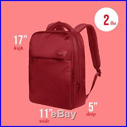 Lipault Plume Business Backpack 15 Laptop Over Shoulder Purse Bag for Women