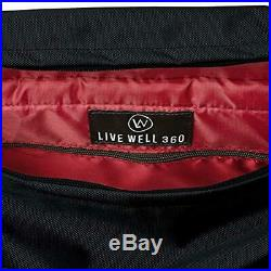 Live Well 360 Best Gym Duffel Bag for Men or Women Bag with Shoe, Laptop W