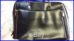 Lodis Audrey Zip Top Laptop Tote withOrganizational Women's Business Bag PRE-OWNED