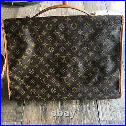 Louis Vuitton Beverly Brief Case/Laptop Bag Preowned Vintage Top Handle/CrossB