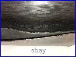 Louis Vuitton Briefcase Laptop Business Bag Ambassador Black Epi Leather EXC