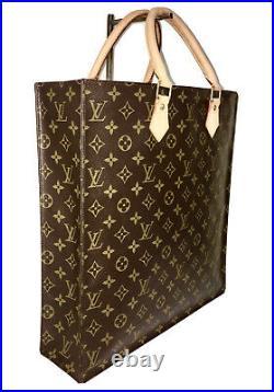 Louis Vuitton Classic Tote Bag Sac Plat NM fits Laptop / Shopping Purse