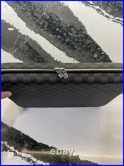 Louis Vuitton Damier Ebene Laptop Messenger Bag Case Authentic
