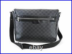 Louis Vuitton Damier Graphite District Messenger Laptop Bag