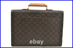 Louis Vuitton Handbag Monogram Serviette Conseiller Briefcase Laptop Bag Vintage