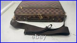Louis Vuitton Lap Top Bag Sabana Chocolate Damier