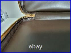 Louis Vuitton Vernis Vandam Briefcase Bronze Leather Laptop Bag