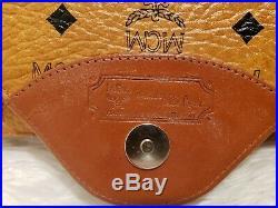 MCM Cognac Business bag Document Laptop / Tablet Briefcase Envelope Purse