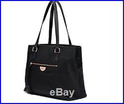 MIMCO Tote Black Echo Worker Bag Laptop Handbag Large Pouch RRP $249 Rose Gold