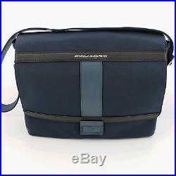 Man Woman Briefcase PIQUADRO ORION messenger bag for laptop CA3371W74 BLU EUPG