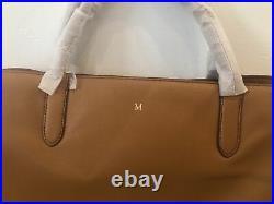 Mark and Graham Caroline Handbag Leather Bag Laptop Purse Camel M