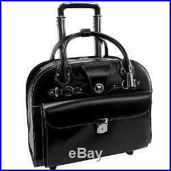 McKlein 96315C Edgebrook Wheeled Ladies Laptop Case
