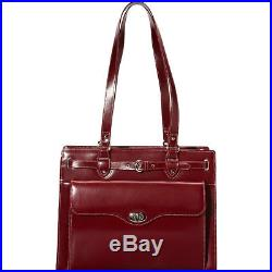 McKlein USA Joliet 15 Leather Laptop Tote EXCLUSIVE Women's Business Bag NEW