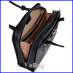 McKlein USA Mayfair Ladies 15 Laptop Tote Black Women's Business Bag NEW